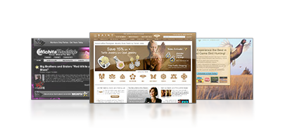 View Wichita Web Design Portfoio by One Up Interactive
